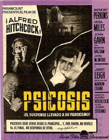 Norman Bates cumple años: Los carteles de Psicosis | Proyecto Naschy