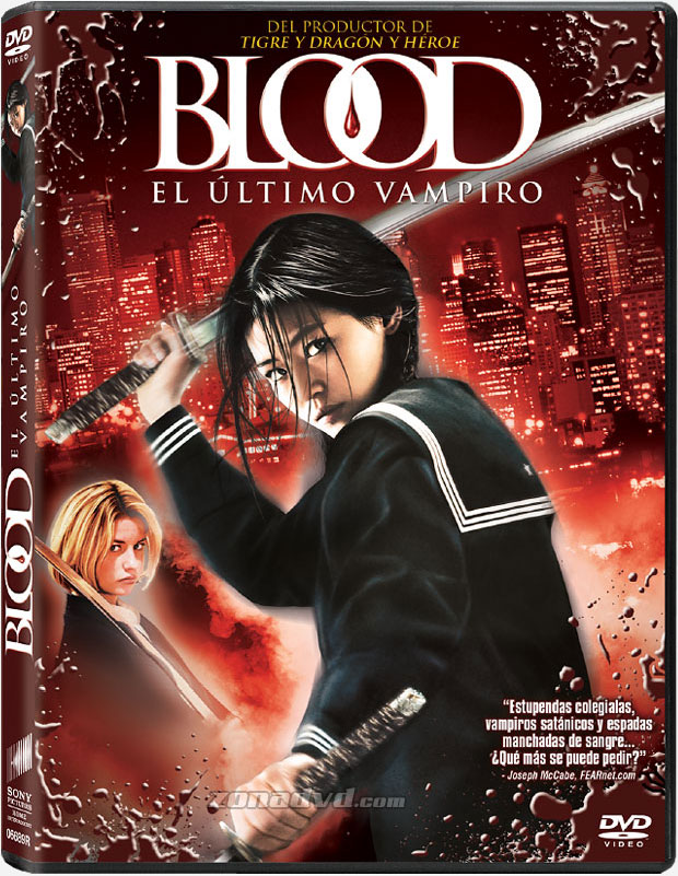Blood: El Último Vampiro [DVD]