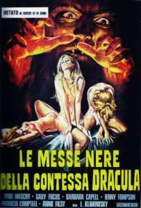 el erótico cartel italiano de La noche de Walpurgis