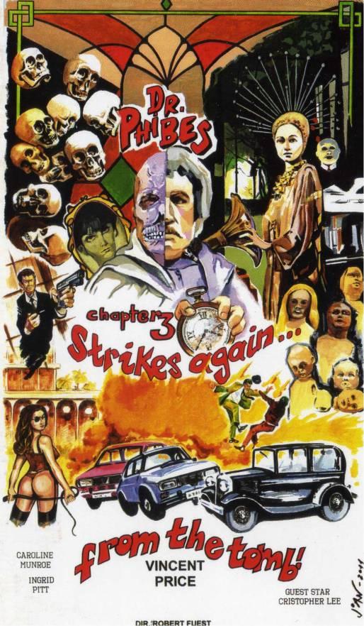 Magnífico cartel de una película ficticia realizado por Joan I.