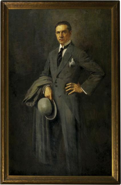 Geza_Kende_Portrait-of-Bela-Lugosi