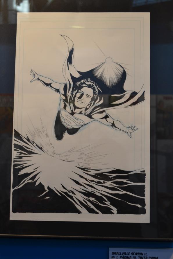 Superman, uno de los protagonistas del Salón...