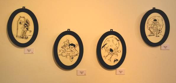 Un detalle de la exposición.