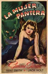 210 1942 CAT PEOPLE (USA 1942, Jacques Tourneur) RKO. Simple herald.