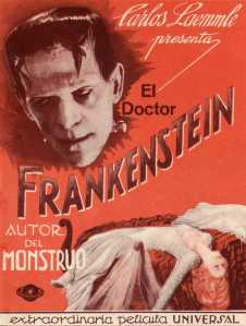 33 1931 Frankenstein, (USA, 1931 James Whale) Universal (Front open)