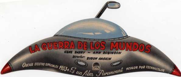 Programa de mano troquelado que se dio en la época en los cines españoles (Imagen Archivo Serendipia, incluída en el libro Spanish Posters & Art from Classic Monster Films)