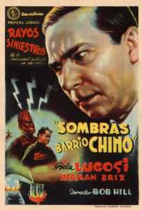 154 1936 SHADOW OF CHINATOWN (USA 1936, Robert F. Hill). Victory Pictures. Simple herald (Episode 1)