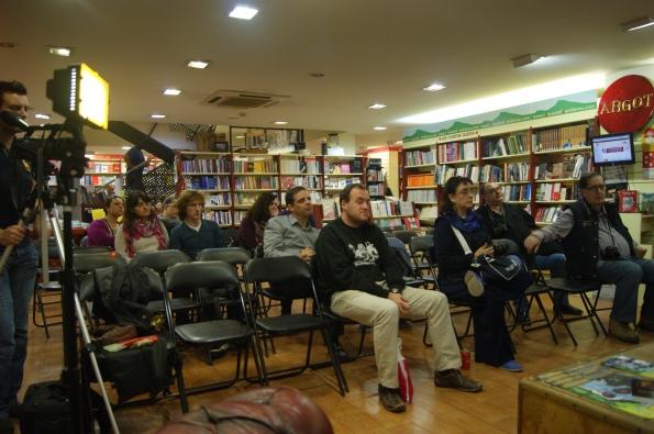 Presentaciones en Llibrería Argot