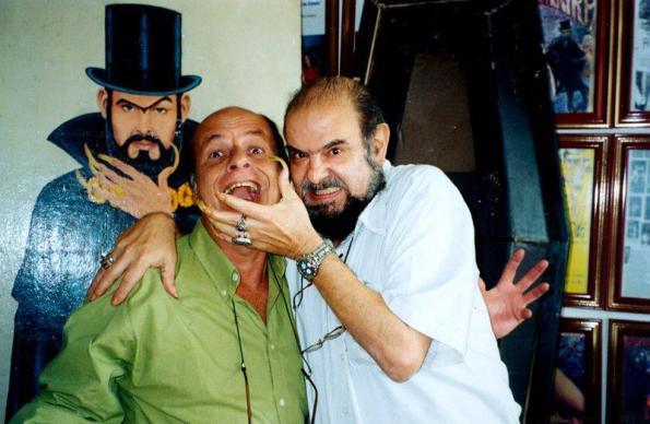 Iván Cardoso y José Mojica Marins, los dos grandes personajes del cine de terror brasileño
