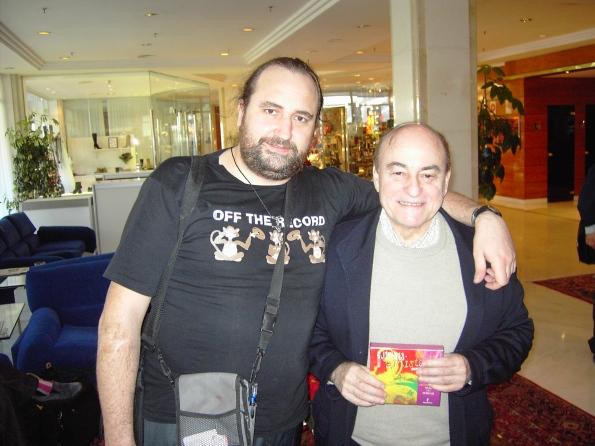 Javier y Paul Naschy, una presencia ya eterna en el festival de Sitges.