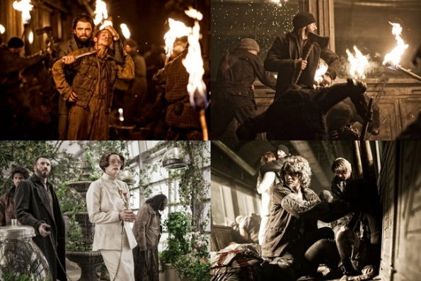 snowpiercer collage