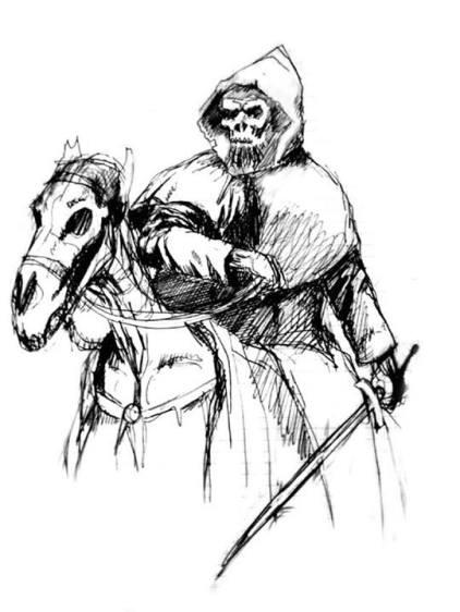 Boceto realizado por el técnico de efectos especiales Domingo Lizcano.