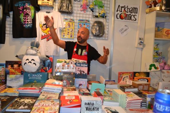 Arkham, posiblemente la tienda de comics de Barcelona en la que mejor tratan a sus clientes. Como seres humanos, oigan.