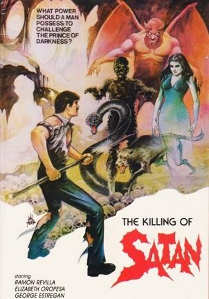 La Furia de Satan Poster