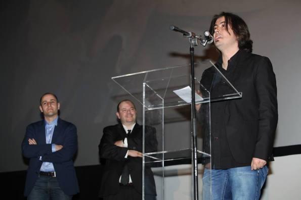 De izquierda a derecha: Sergio Molina, José Luis Alemán y Luis Rosales Diz