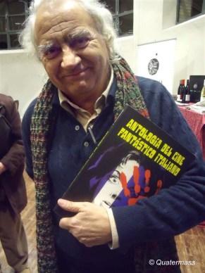 Jorge Grau con el nº 7 de Quatermass en Zaragoza (2010).