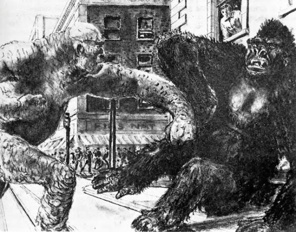 Entre los proyectos no realizados un curioso y bizarro King Kong Vs. Frankenstein, del que se recogen diseños originales.