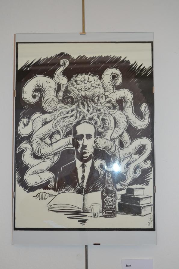 Lovecraft muy presente durante el Cryptshow