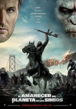 El Amanecer del Planeta de los Simios_Poster