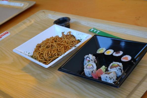 O este sushi de la cena japonesa