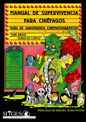 Portada Manual de Supervivencia para Cinéfagos