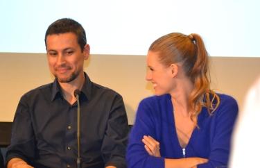 Rodrigo Cortés y Manuela Vellés.
