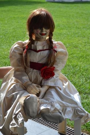 Annabelle también se paseó por Sitges...
