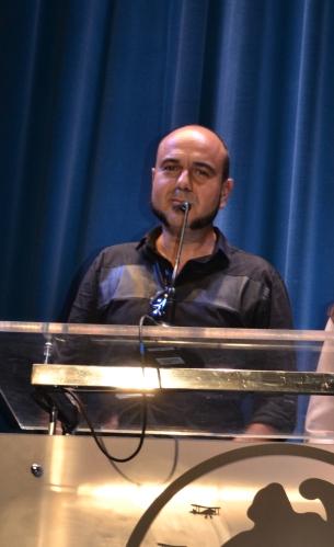 Marc Carreter presentando Asmodexia.