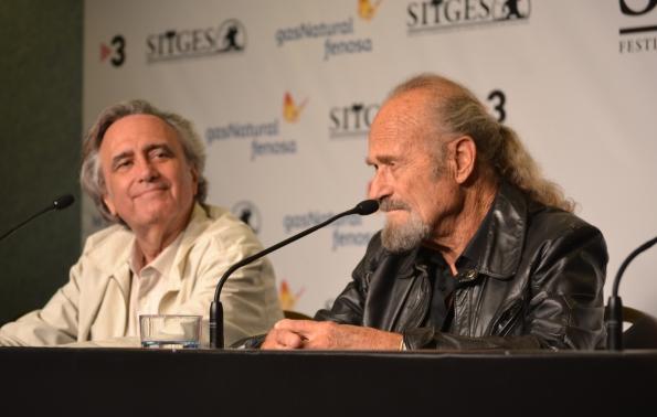 Joe Dante y Dick Miller.