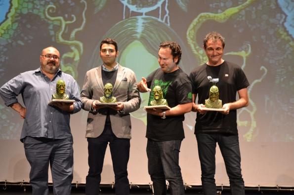 Los premiados FANTASTI'CS 2014 al completo.