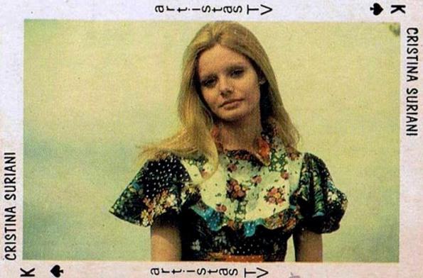 Lograr el más alto grado de popularidad se conseguía en los años setenta cuando editaban cromos con tu imagen. O, como en este caso, naipes.