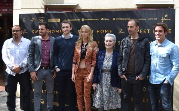 Oriol Tarrida, Miguel Ángel Alarcón, Bruno Sevilla, Ingrid García Jonsson, Mariona Perrier, Rafa Martínez y Eduardo Lloveras