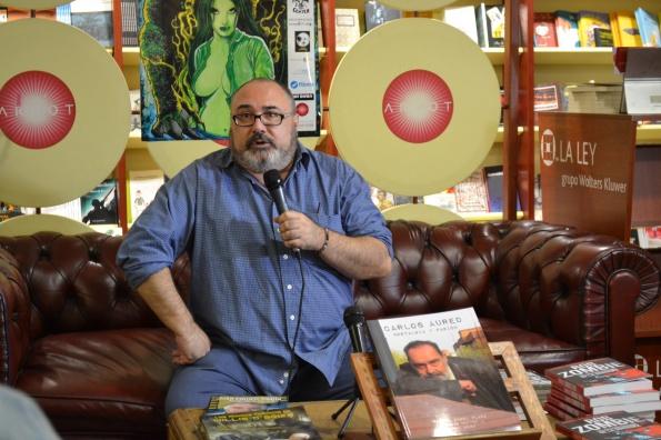 En Fantasti'CS 2014 presentando el libro 'Carlos Aured. Nostalgia y pasión' (Foto: Serendipia)