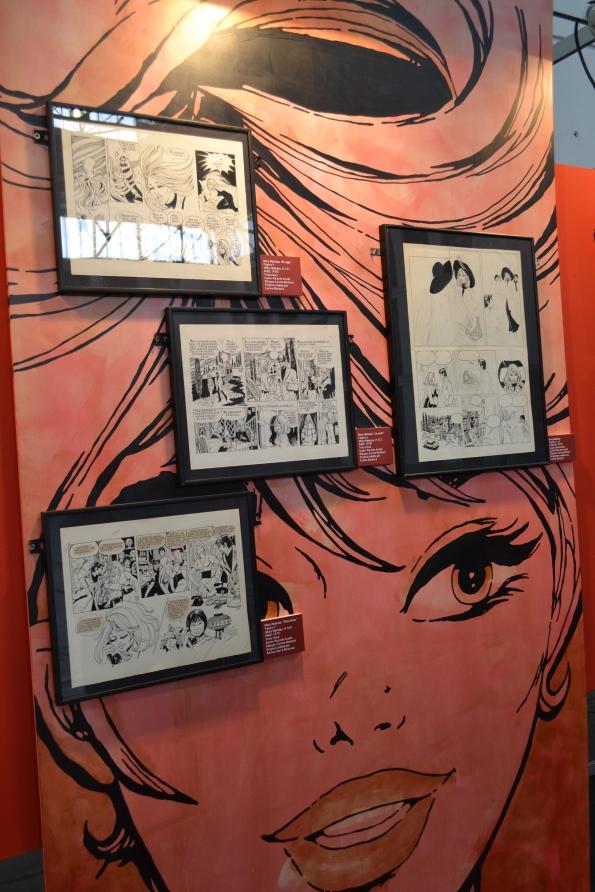 El cómic femenino más pop también tuvo su espacio y homenaje en el Salón.