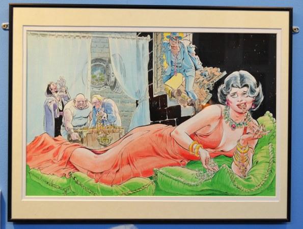 Will Eisner siempre vivo en el Salón del Cómic