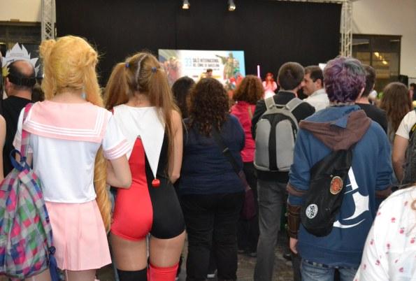 El concurso de Cosplay tuvo una gran afluencia de público.