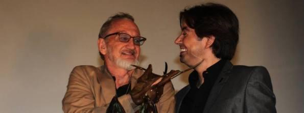 Robert Englund con Luis Rosales (foto archivo Nocturna)