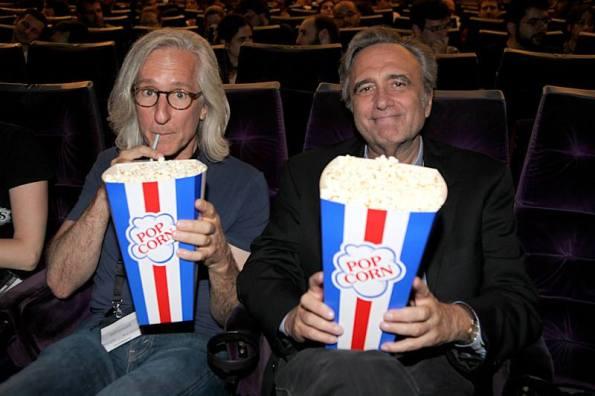 Mick Garris y Joe Dante en el Palafox (foto archivo Nocturna)