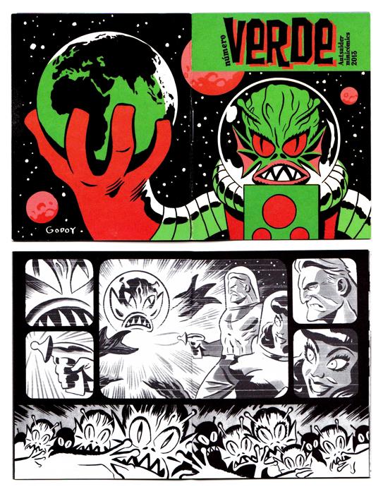 Los hombrecillos verdes Verde Autsaider Cómics 2013