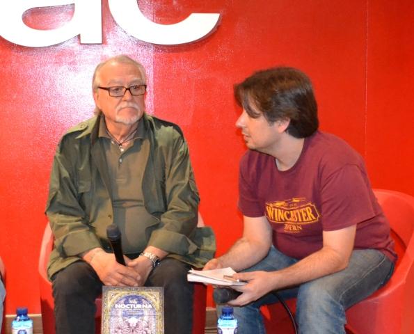 Lamberto Bava y Luis Rosales.
