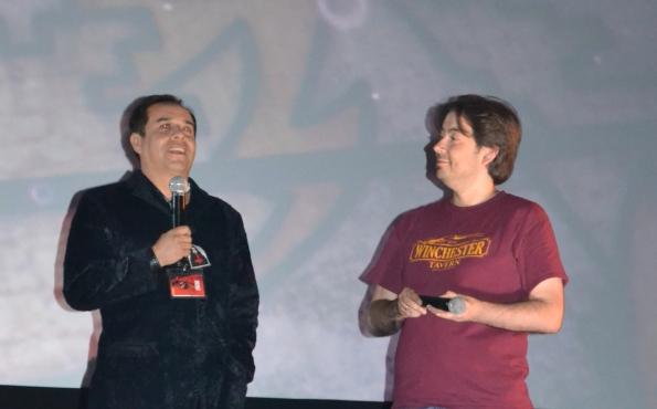 Junto al director mexicano Ulises Guzmán, responsable de uno de los capítulos de 'México Bárbaro' y del fantástico documental 'Alucardos, retrato de un vampiro'