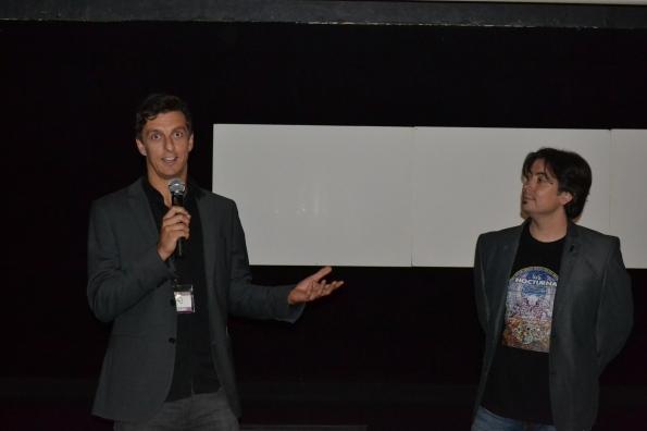 ... Gez Medinger, co-director de la cinta británica 'Afterdeath', ganadora del premio 'Nocturna Dark Visions'...