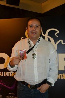 Ulises Guzmán, director de una de las historias de México Bárbaro (foto Serendipia)