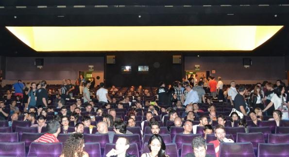 La sala 1, muy espaciosa y cómoda, que era el principal centro de Nocturna y donde se celebraron las galas.