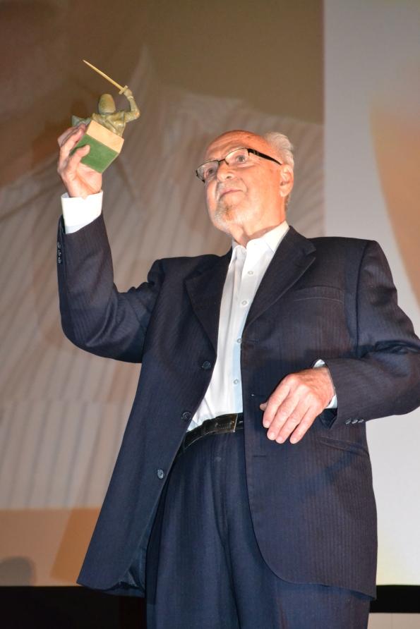 ... y el entrañable Josep Antón Pérez Giner, que recibió el Scifiworld Hall of Fame.