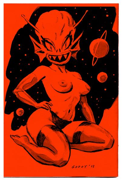 PIN UPS Fem Dom Psyclops Graphix 2013