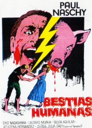 Bestias Humanas, otro de los nombres con el que se conoció el filme de Naschy