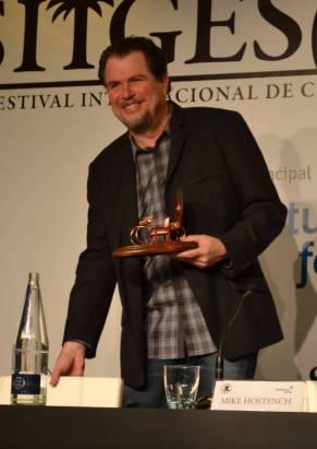 Don Coscarelli durante la rueda de prensa en Sitges 2012 (Foto: Serendipia)