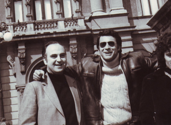 Vic Winner con Josep Anton Pérez Giner