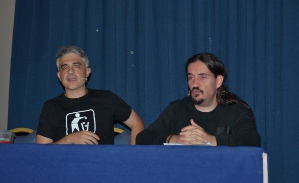 Fox y Palencia: ¡Al ataqueerllll! (Foto: Serendipia)